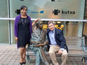 With Einstein in Spain